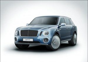 Bentley EXP 9F SUV Concept