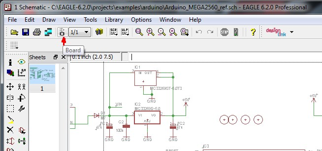 Creating the Layout from your Schematic - Eurocircuits