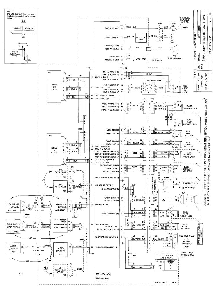 bendix king wiring diagram