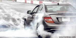 mercedes-c63-amg-burnout-eurokracy-montreal