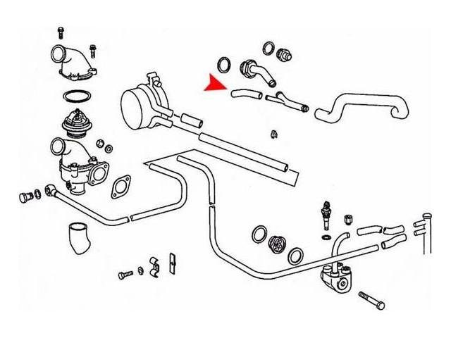 mercedes w108 engine parts diagram