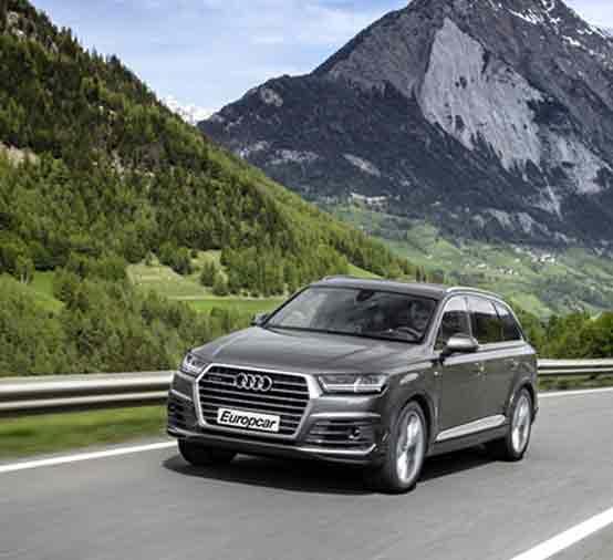 Europcar Deals Standard vehicles
