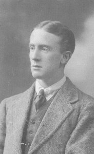 Tolkien as a young man.