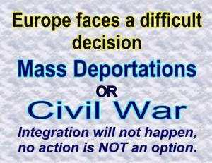 Choice civil war or deportations