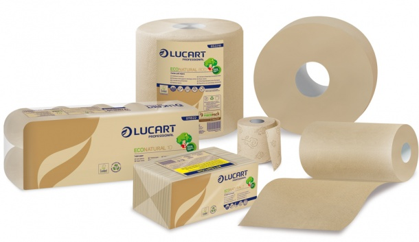Lucart Econatural Tissue Made From 100 Per Cent Recycled