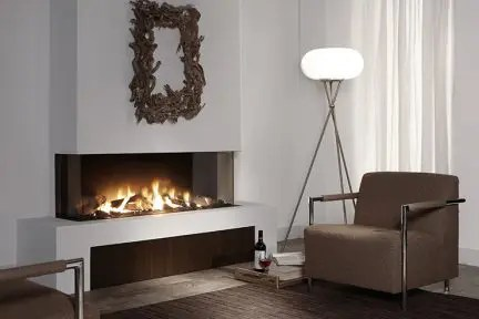 Luxury Modern Gas Electric Wood Fireplaces European Home