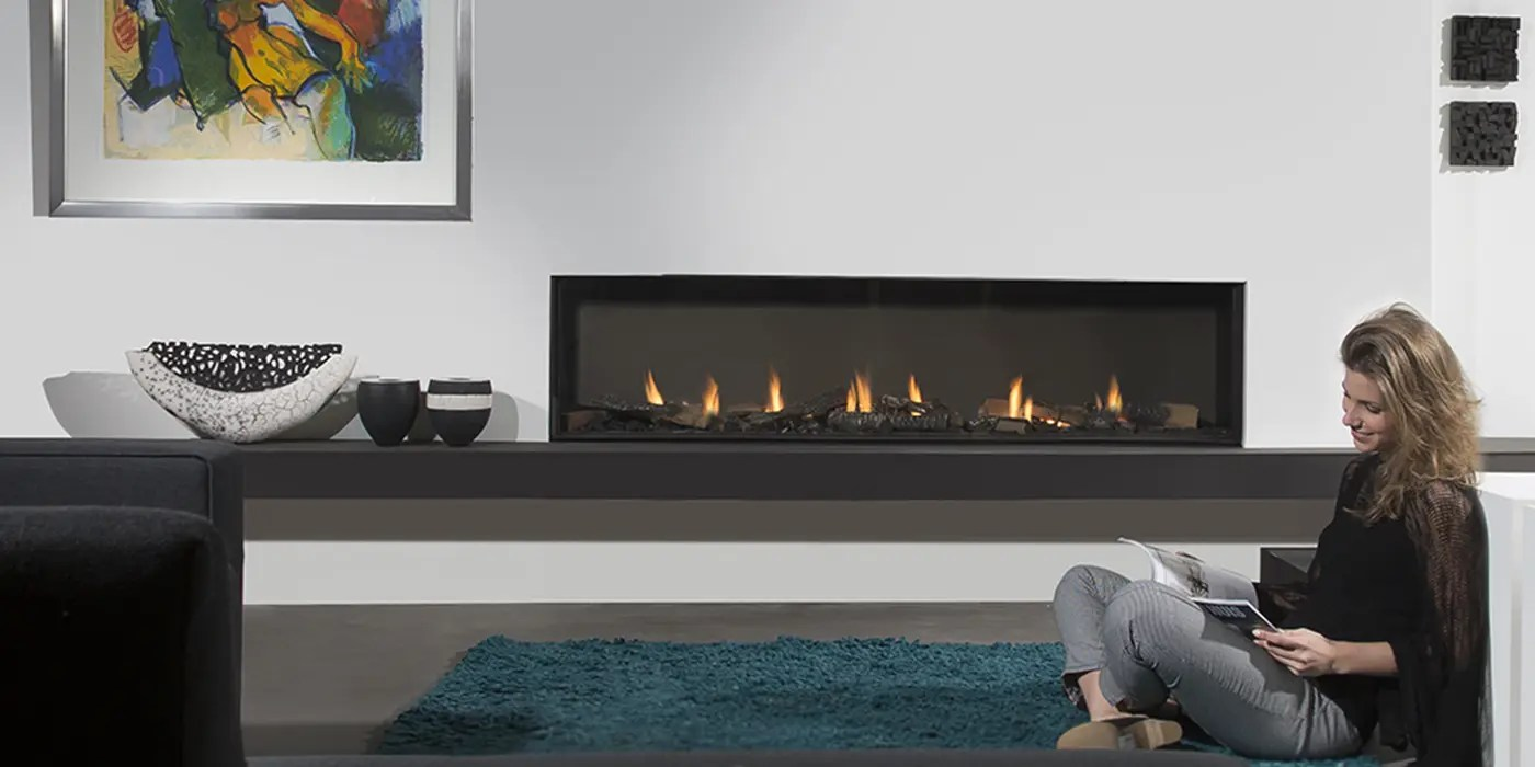 Modore 185 By Element4 Linear Fireplace Direct Vent Gas
