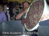 ewa students on field trip