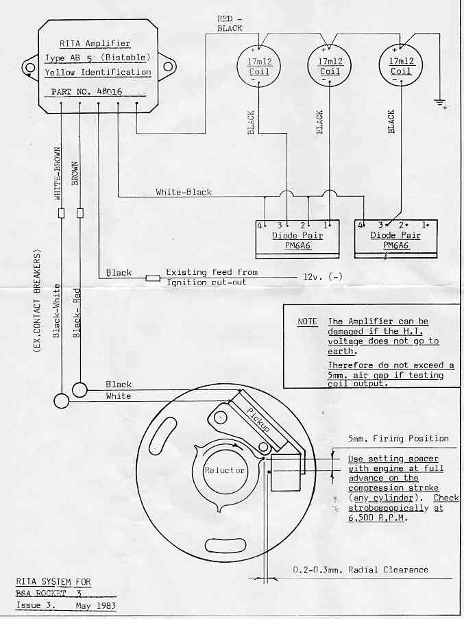 wiring diagram of amplifier