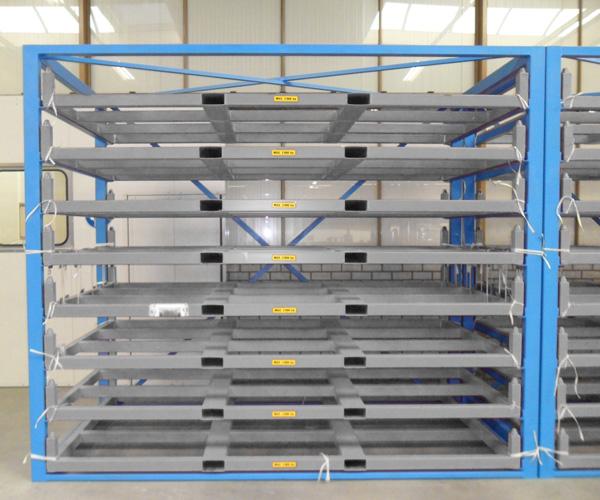 Metal Sheet Forklift Rack Eurostorage Storage Sheets & Sheet Rack Storage - Listitdallas