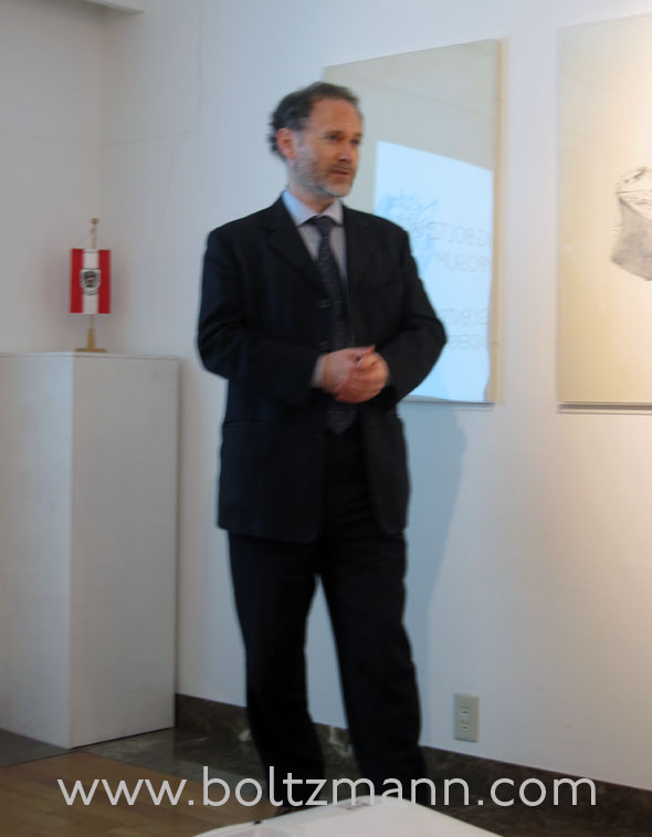 Opening address: Minister for Cultural Affairs, Embassy of Austria, Mr Peter Storer