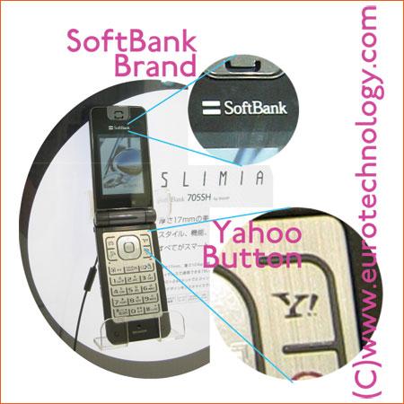 SoftBank's Yahoo button