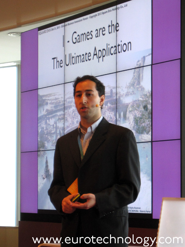 Jakob Navok, Director of Business Development, Square Enix