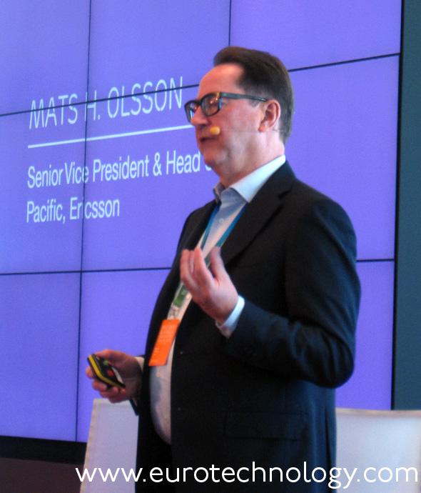 Mats H Olsson, Head of Asia-Pacific, Ericsson