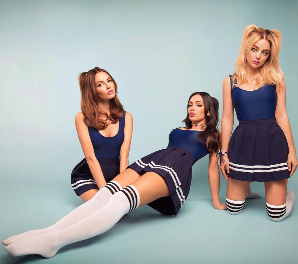 Power Pop Girl Wallpaper Russian Group Serebro Released A New Album