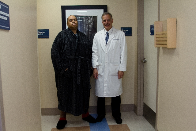 ... 132-pound mass in his scrotum in a 13-hour surgery, April 8, 2013