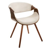 Modern Dining Chairs | Clifton Cream Arm Chair | Eurway