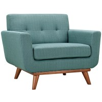 Modern Lounge Chairs | Empire Light Blue Chair | Eurway
