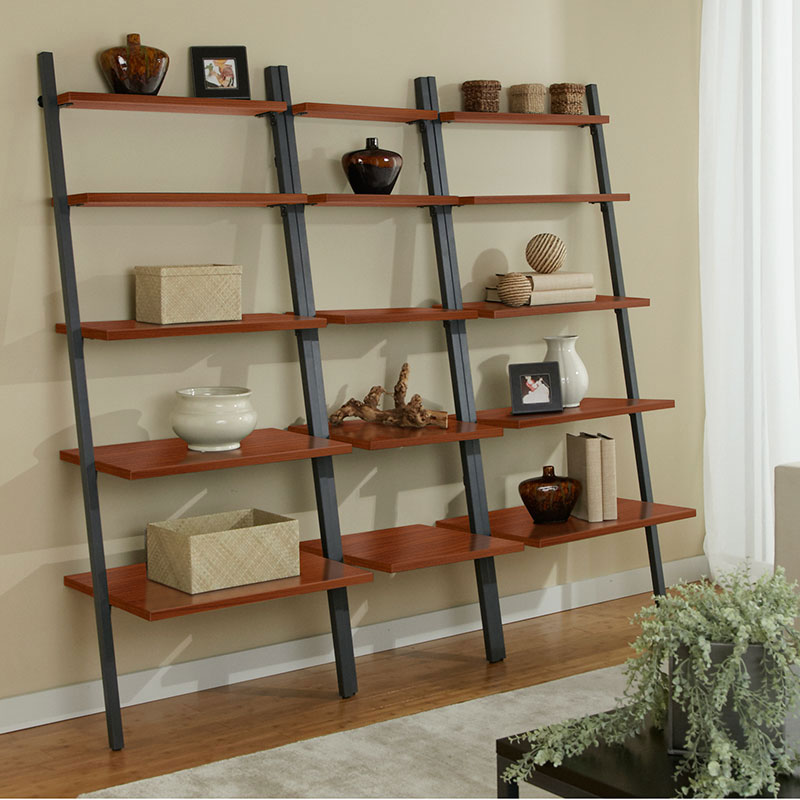 Paige Modern Narrow Leaning Bookcase Eurway Modern