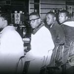 1960s lunch counter sit in/protest