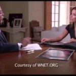 Skip Gates with Eva Longoria on Faces of America
