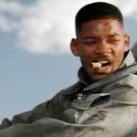 "Will Smith as Capt. Steven Heller in ""Independence Day"""
