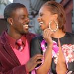 Lance gross and Eva Marcille