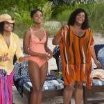 Janet Jackson, Sharon Leal and Jill Scott in a scene from 'Why Did I Get married Too' shot on location in The Bahamas