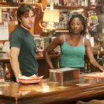 Sam Merlotte and Rutina Wesley from HBO&#039;s &#039;True Blood&#039;