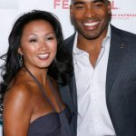 In better days...Tiki Barber and his wife attend the opening of the Tribeca Film Festival on April 25, 2007 in New York City.