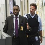 "Courtney B. Vance with Joseph Fiennes in ""FlashForward"""