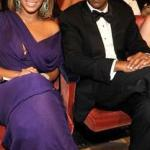 A royal pair Beyonce & Jay-Z