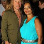 Jon Bon Jovi with Jonelle Procope, president & CEO, The Apollo Foundation