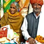 Rajo Devi Lohan, 70, with husband Bala Ram, 72