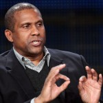 Talk show host Tavis Smiley speaks during the 'Tavis Smiley' panel at the PBS portion of the 2011 Winter TCA press tour held at the Langham Hotel on January 9, 2011 in Pasadena, California.