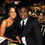 Actor Tracy Morgan (R) and Tanisha Hall attend the cocktail reception during the 17th Annual Screen Actors Guild Awards held at The Shrine Auditorium on January 30, 2011 in Los Angeles, California.