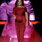 Laila Ali walks the runway at the Heart Truth Fall 2011 fashion show during Mercedes-Benz Fashion Week at The Theatre at Lincoln Center on February 9, 2011 in New York City.