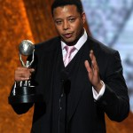 Actor Terrence Howard, who turns 42 today, accepts the award for Outstanding Supporting Actor in a Drama Series for 'Law & Order: Los Angeles' onstage at the 42nd NAACP Image Awards held at The Shrine Auditorium on March 4, 2011 in Los Angeles