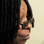 Actress/producer Whoopi Goldberg speaks to media during the &quot;Sister Act&quot; on Broadway cast photo call at The New 42nd Street Studios on March 2, 2011 in New York City