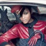 Nyasha Matonhodze, 16, new face for Louis Vuitton's Fall campaign.