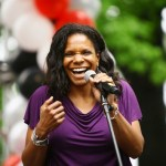 Actress Audra McDonald attends the 2011 AIDS Walk New York Opening Ceremony in Central Park on May 15, 2011 in New York City
