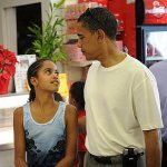 obama and malia