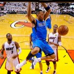 (Dallas's Shawn Marion dunks in game 6 of 2011 NBA finals)