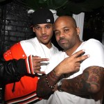 Damon Dash Jr. (l) and Sr.