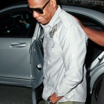 "Jay-Z seen leaving his wife Beyonce's secret show at the Shepherds Bush Empire. The concert also marked the release of the star's new album, ""4"". (June 27, 2011)"