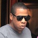 Jay-Z leaves Sant Ambroeus restaurant in the West Village after having an early dinner with some friends. (June 18, 2011)