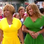 "Erica and Tina Campbell of Mary Mary on ""Good Morning America"" (July 19, 2011)"