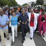 sharpton, joyner & marchers