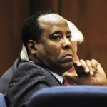 Dr. Conrad Murray listens to testimony during his involuntary manslaughter trial in the death of singer Michael Jackson in Los Angeles Superior Court on October 25, 2011 in Los Angeles, California.  Murray has pleaded not guilty and faces four years in prison and the loss of his medical licenses if convicted of involuntary manslaughter in Jackson's death. (Oct. 25, 2011)
