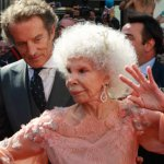 The Duchess of Alba, 85, dances at her controversial high-profile wedding to her longtime beau Alfonso Diez, 61, October 5, 2011